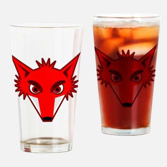 Fox Face Drinking Glass