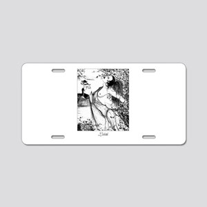 Lillith Aluminum License Plate