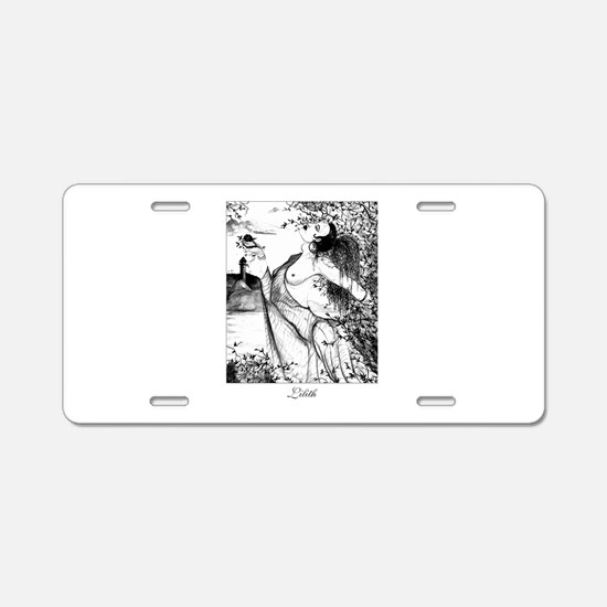 Lillith Aluminum License Plate