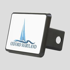 Oxford MD - Sailboat Design. Rectangular Hitch Cov