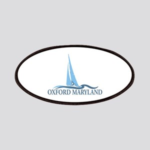Oxford MD - Sailboat Design. Patches