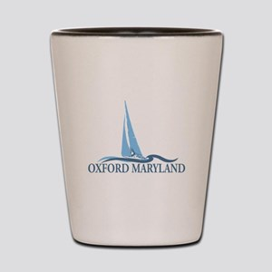 Oxford MD - Sailboat Design. Shot Glass