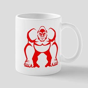 Red Gorilla Mug