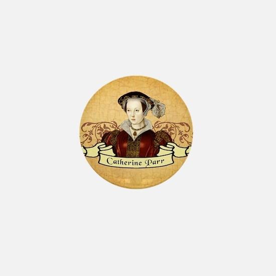 Catherine Parr Mini Button