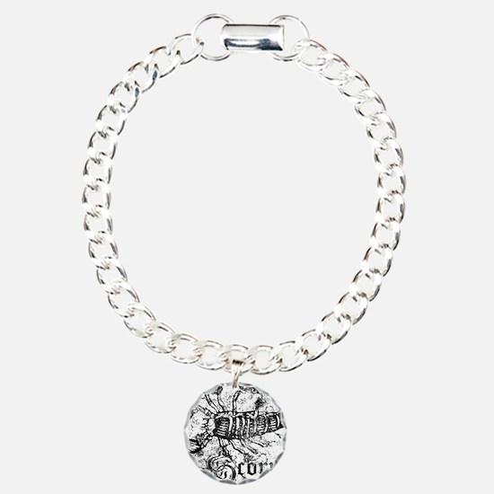 Worn Zodiac Scorpio Bracelet