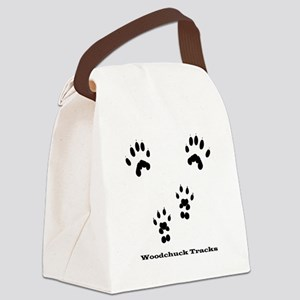 Woodchuck Tracks Canvas Lunch Bag