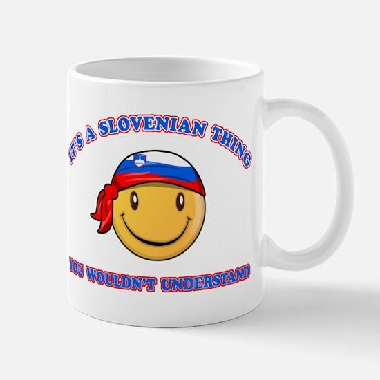 Slovenian Smiley Designs Mug