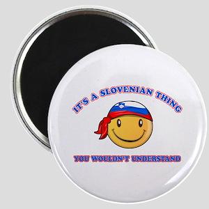 Slovenian Smiley Designs Magnet