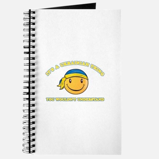 Ukrainian Smiley Designs Journal
