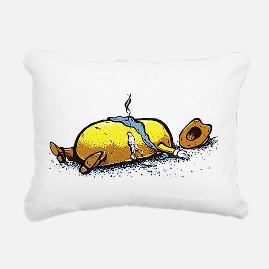 Dead Twinkie Rectangular Canvas Pillow