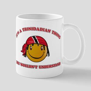 Trinidadian Smiley Designs Mug