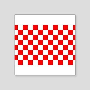 "Croatian Sensation Square Sticker 3"" x 3"""