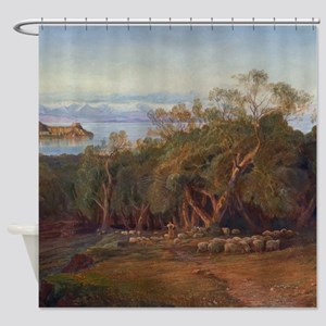 Corfu from Ascension Shower Curtain