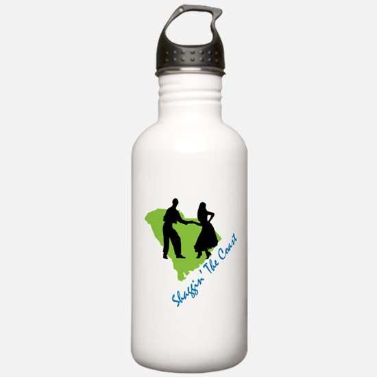 Shaggin The Coast Water Bottle