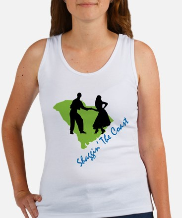 Shaggin The Coast Women's Tank Top