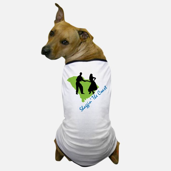 Shaggin The Coast Dog T-Shirt