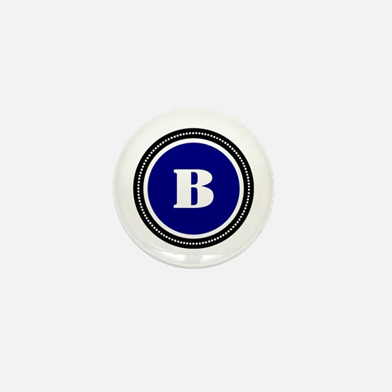 Blue Mini Button