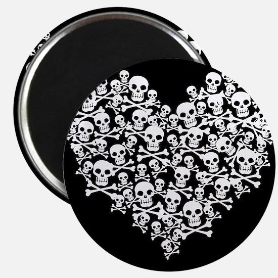 Skull Heart Magnet
