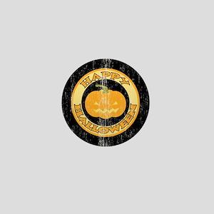 Retro Jack O Lantern Mini Button
