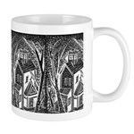 Woodblock San Diego House Mug