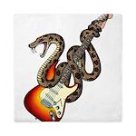 Snake Guitar 01 Queen Duvet
