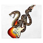 Snake Guitar 01 King Duvet