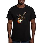 Snake Guitar 01 Men's Fitted T-Shirt (dark)