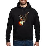 Snake Guitar 01 Hoodie (dark)