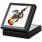 Snake Guitar 01 Keepsake Box