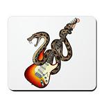 Snake Guitar 01 Mousepad