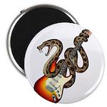 Snake Guitar 01 Magnet
