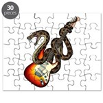 Snake Guitar 01 Puzzle