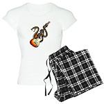 Snake Guitar 01 Women's Light Pajamas