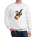 Snake Guitar 01 Sweatshirt