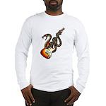 Snake Guitar 01 Long Sleeve T-Shirt
