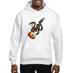 Snake Guitar 01 Hooded Sweatshirt