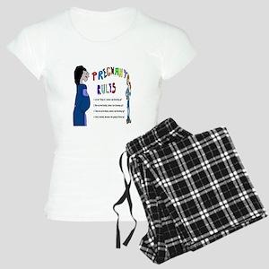 Pregnant Rules Women's Light Pajamas