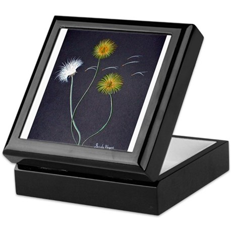 Art By Sandy Wager Painting Keepsake Box