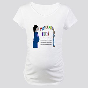 Pregnant Rules Maternity T-Shirt