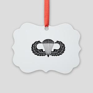 Airborne Stencil Picture Ornament