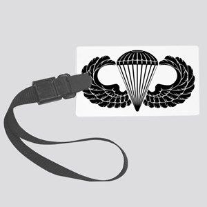 Airborne Stencil Large Luggage Tag