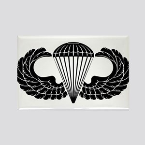 Airborne Stencil Rectangle Magnet