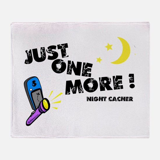 Just One More! Throw Blanket