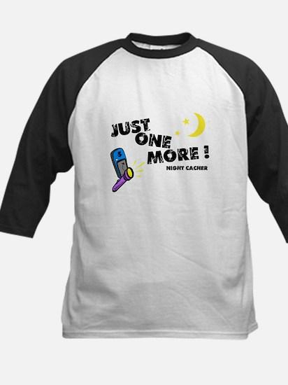 Just One More! Kids Baseball Jersey