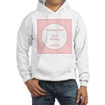 Prairie Paisley Monogram Hooded Sweatshirt