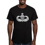 Airborne Senior Men's Fitted T-Shirt (dark)