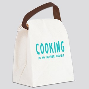 Super Power: Cooking Canvas Lunch Bag