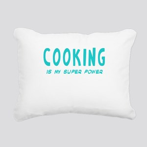 Super Power: Cooking Rectangular Canvas Pillow