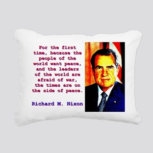 For The First Time - Richard Nixon Rectangular Can