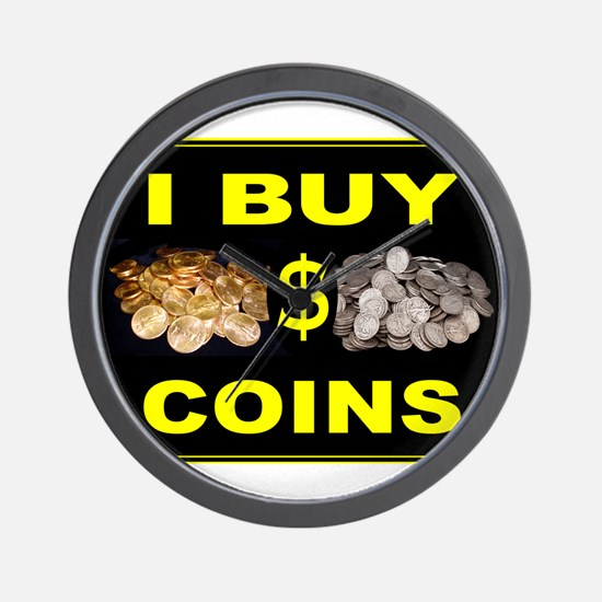 COIN BUYER Wall Clock